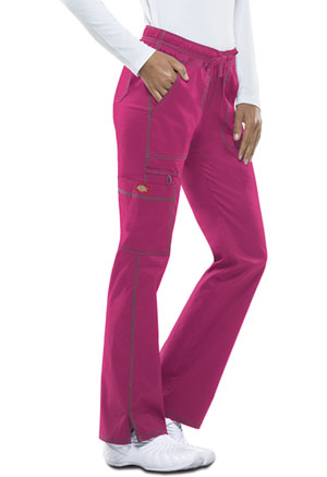 Dickies Low Rise Straight Leg Drawstring Pant Hot Pink (DK100-HPKZ)