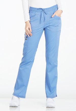 Mid Rise Straight Leg Drawstring Pant (DK106P-CIE)