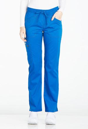 Mid Rise Straight Leg Drawstring Pant (DK106P-ROY)