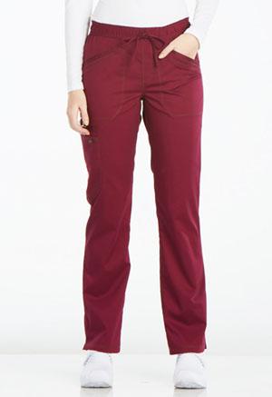 Mid Rise Straight Leg Drawstring Pant (DK106P-WIN)