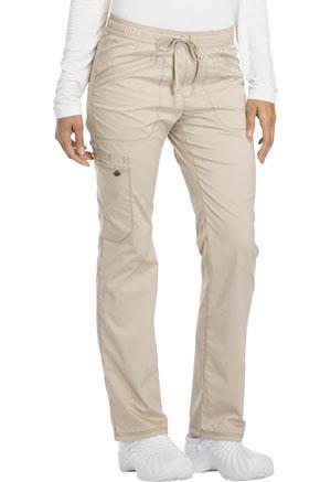 Dickies Mid Rise Straight Leg Drawstring Pant Khaki (DK106-KAK)