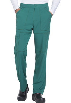 Dickies Dynamix Men's Zip Fly Cargo Pant in Hunter Green (DK110-HUN)