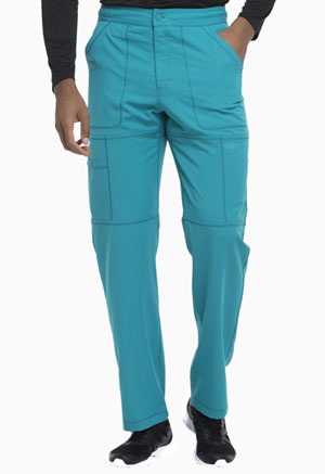 Dickies Dynamix Men's Zip Fly Cargo Pant in Teal Blue (DK110-TLB)