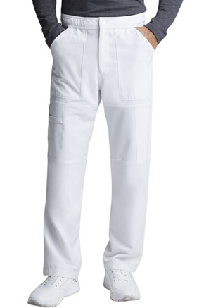 Dickies Men's Zip Fly Cargo Pant White (DK110-WHT)