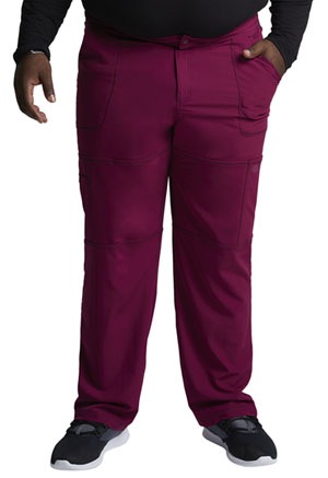 Dickies Dynamix Men's Zip Fly Cargo Pant in Wine (DK110-WIN)