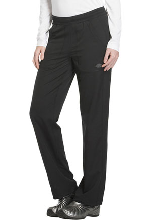 Mid Rise Straight Leg Pull-on Pant (DK120T-BLK)