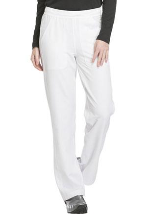 Mid Rise Straight Leg Pull-on Pant (DK120T-WHT)