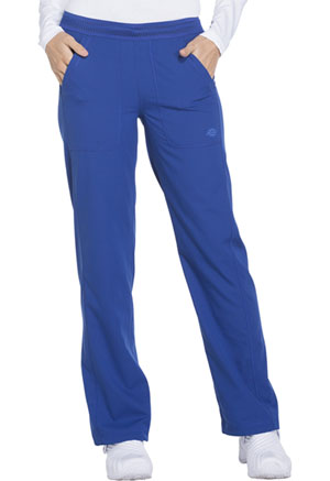 Dickies Dynamix Mid Rise Straight Leg Pull-on Pant in Galaxy Blue (DK120-GAB)