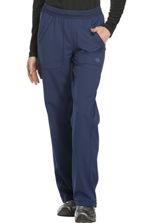 Dickies Dynamix Mid Rise Straight Leg Pull-on Pant in Navy (DK120-NAV)