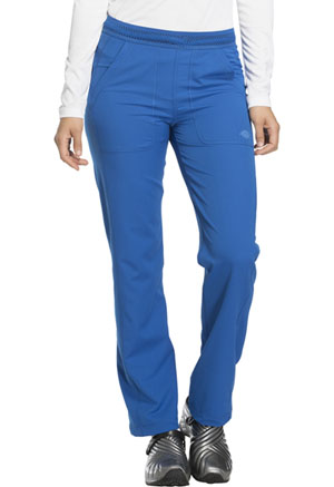 Dickies Dynamix Mid Rise Straight Leg Pull-on Pant in Royal (DK120-ROY)