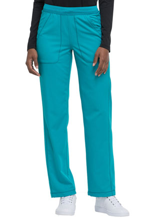 Dickies Dynamix Mid Rise Straight Leg Pull-on Pant in Teal Blue (DK120-TLB)