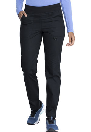 Dickies EDS Signature Mid Rise Tapered Leg Pull-on Pant in Black (DK125-BLWZ)