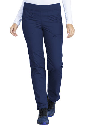 Dickies EDS Signature Mid Rise Tapered Leg Pull-on Pant in Navy (DK125-NVWZ)