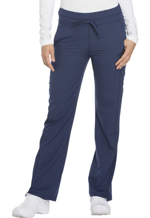 Mid Rise Straight Leg Drawstring Pant (DK130P-NAV)