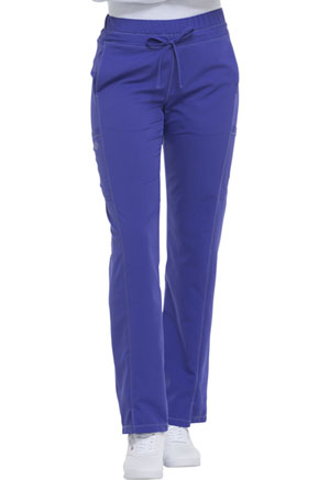 Mid Rise Straight Leg Drawstring Pant (DK130P-UVTZ)