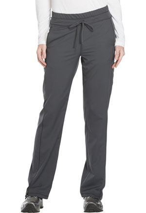 Dickies Dynamix Mid Rise Straight Leg Drawstring Pant in Pewter (DK130-PWT)