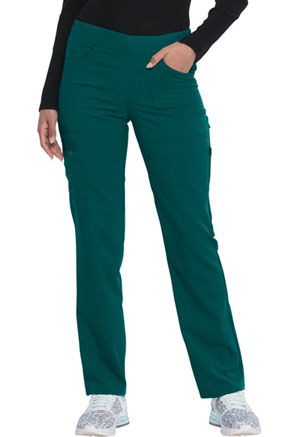Dickies Balance Mid Rise Straight Leg Pull-on Pant in Hunter Green (DK135-HUN)