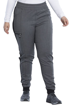 Dickies Balance Mid Rise Jogger Pant in Heather Steel (DK155-HTSE)
