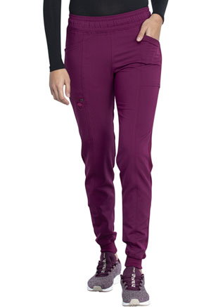 Dickies Balance Mid Rise Jogger Pant in Wine (DK155-WIN)