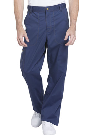Men's Drawstring Zip Fly Pant (DK160S-NAV)