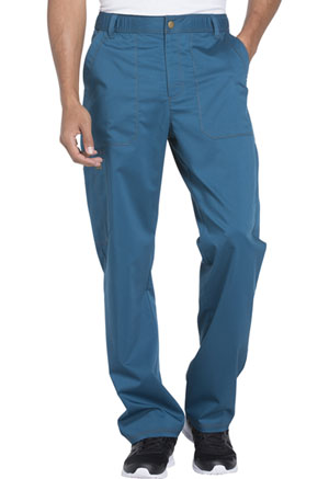 Dickies Essence Men's Drawstring Zip Fly Pant in Caribbean Blue (DK160-CAR)