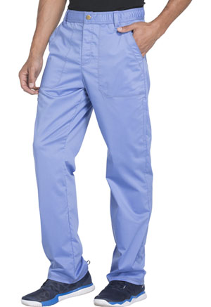 Dickies Essence Men's Drawstring Zip Fly Pant in Ciel Blue (DK160-CIE)