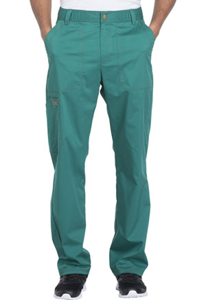 Dickies Essence Men's Drawstring Zip Fly Pant in Hunter Green (DK160-HUN)