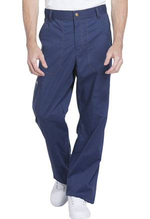 Dickies Essence Men's Drawstring Zip Fly Pant in Navy (DK160-NAV)