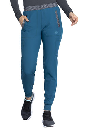 Dickies Dynamix Natural Rise Tapered Leg Jogger Pant in Caribbean Blue (DK185-CAR)