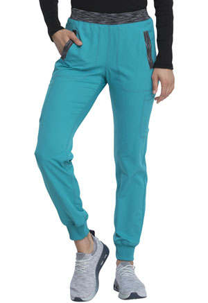 Dickies Dynamix Natural Rise Tapered Leg Jogger Pant in Teal Blue (DK185-TLB)