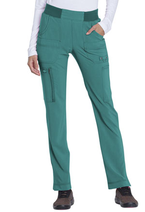 Dickies Mid Rise Tapered Leg Pull-on Pant Teal Blue (DK195-TLB)