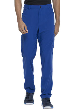 Dickies Advance Solid Tonal Twist Men's Straight Leg Zip Fly Cargo Pant in Galaxy Blue (DK205-GAB)