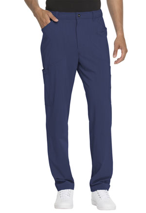 Dickies Advance Solid Tonal Twist Men's Straight Leg Zip Fly Cargo Pant in D-Navy (DK205-NVYZ)
