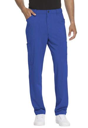 Dickies Advance Solid Tonal Twist Men's Straight Leg Zip Fly Cargo Pant in Royal (DK205-ROY)