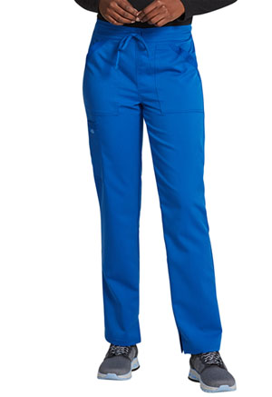Dickies Balance Mid Rise Tapered Leg Drawstring Pant in Royal (DK212-ROY)