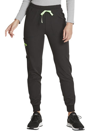 Dickies Dynamix Mid Rise Jogger in Black (DK234-BLK)