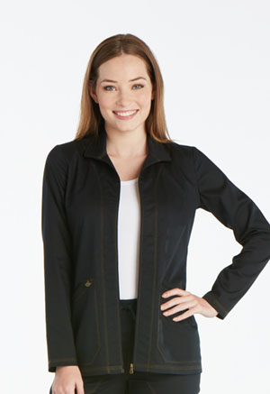 Dickies Essence Warm-up Jacket in Black (DK302-BLK)