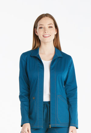 Dickies Essence Warm-up Jacket in Caribbean Blue (DK302-CAR)