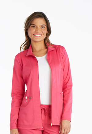 Dickies Essence Warm-up Jacket in Hot Pink (DK302-HPKZ)