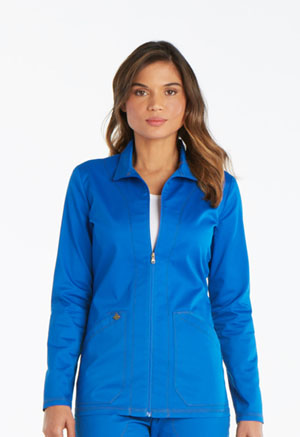 Dickies Essence Warm-up Jacket in Royal (DK302-ROY)