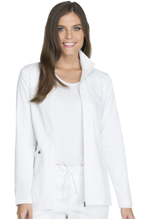 Dickies Essence Warm-up Jacket in White (DK302-WHT)