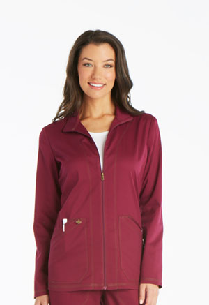 Dickies Essence Warm-up Jacket in Wine (DK302-WIN)