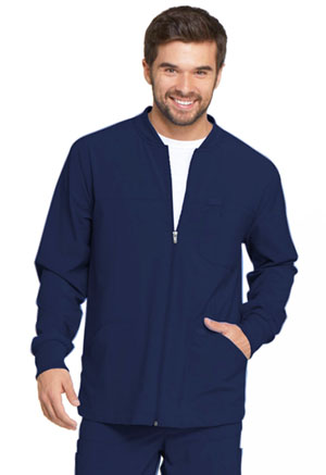 Dickies EDS Essentials Men's Zip Front Warm-Up Jacket in Navy (DK320-NYPS)