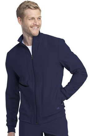Dickies Retro Men's Warm-up Jacket in Navy (DK360-NAV)