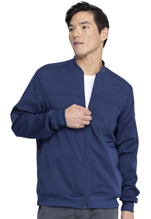 Dickies Men's Zip Front Jacket Navy (DK370-NAV)