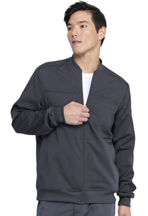 Dickies Balance Men's Zip Front Jacket in Pewter (DK370-PWT)