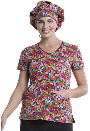 Dickies Bouffant Scrubs Hat Stay On Tropic (DK500-STYT)