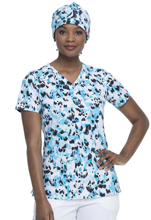 Dickies Prints Scrubs Hat in Animal Instinct (DK501-AILI)