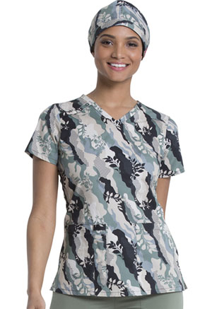 Dickies Prints Scrubs Hat in Nature Camo (DK501-NTCO)