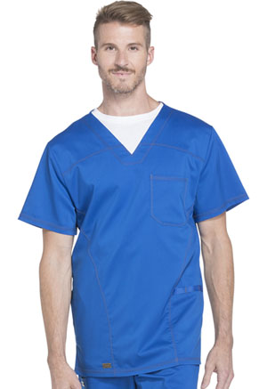 Dickies Essence Men's V-Neck Top in Royal (DK630-ROY)
